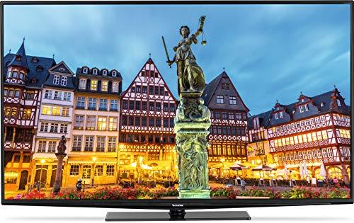 Technisat Techniline Plus 49 Zoll (123 cm) LED Fernseher (Full HD, Einkabel Twin Tuner, Smart TV, PVR Aufnahmefunktion) [Energieklasse A+]