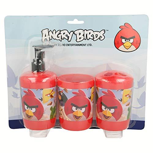 Set de Salle de Bain 3 unités. Angry Birds