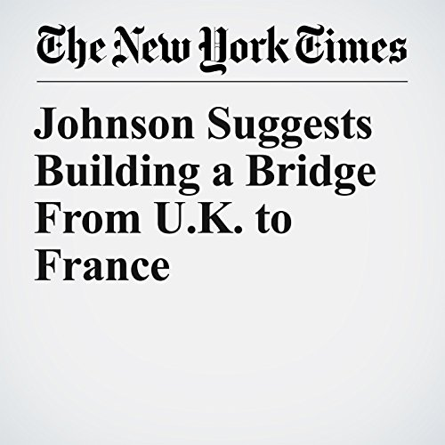 Johnson Suggests Building a Bridge From U.K. to France copertina