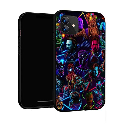 N / A iPhone 11 Case,Basic Case Plastic Cover for iPhone 11 (Avengers-3)