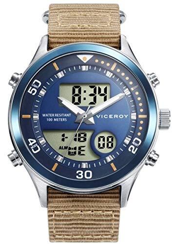 VICEROY - Reloj Anadigit Acero IP Azul Correa Niño Next Va - 41101-34