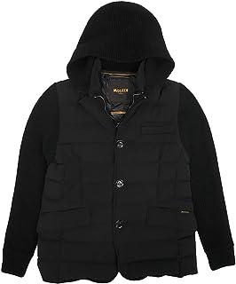 (ムーレー)MooRER ダウンジャケット メンズ フーデットダウンジャケット ブラック OREGON オレゴン 正規取扱品