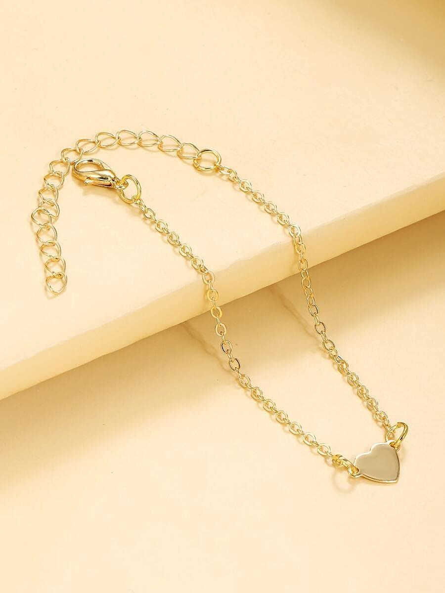 Max 44% OFF xiangshang shangmao Charm Bracelets Heart Bracelet Color Decor Lowest price challenge