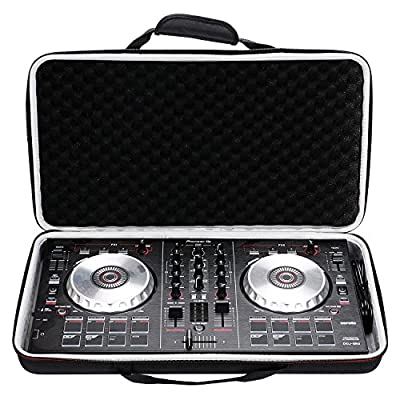 LTGEM Case for Pioneer DJ DDJ-SB3 / DDJ-SB2 / DDJ-400 or Portable 2-channel Controller or DDJ-RB Performance DJ Controller-Black from LTGEM
