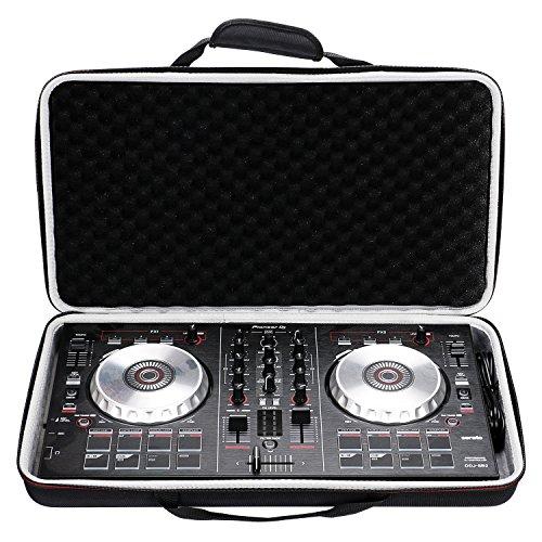 LTGEM Case for Pioneer DJ DDJ-SB3 / DDJ-SB2 / DDJ-400 or Portable 2-channel Controller or DDJ-RB Performance DJ Controller-Black