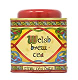 Royal Tara Welsh Brew Tea with Celtic Red Dragon Design Tinned Scottish Wales 50 Teabags Blend of African and Indian Tea Net Weight: 125g Gross Weight: 295g