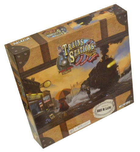 Asmodee 271161 - Wizkids - Trains and Stations, Brettspiel