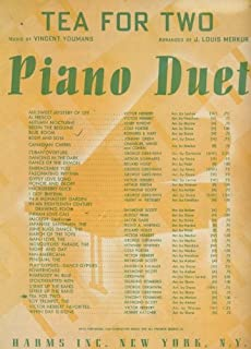 Tea for Two (Piano Duet)