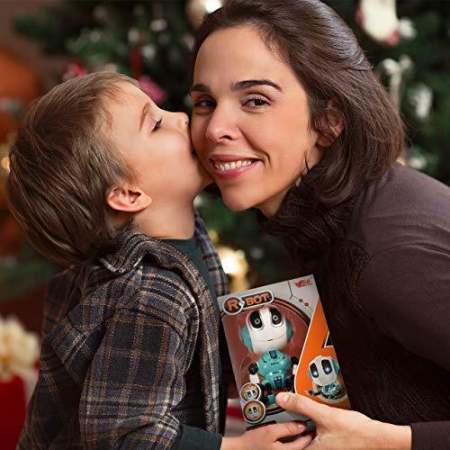 Tesoky Spielzeug für Jungen 3 4 5 6 7 8 Jahre, Roboter Kinderspielzeug Geschenke Mädchen Jungen 3-8 Jahre Spielzeug ab 3-8 Jahren für Jungen Mädchen Kinderspielzeug ab -8 Jahre Blau - 6