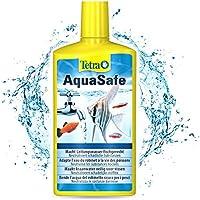 TETRA AquaSafe - Conditionneur d'Eau Naturel pour Poissons tropicaux -Agit en 5 mn - Eau Douce et Eau de Mer -...