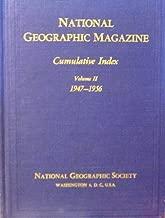 National Geographic Magazine : Cumulative Index, Volume 2, 1947-1956