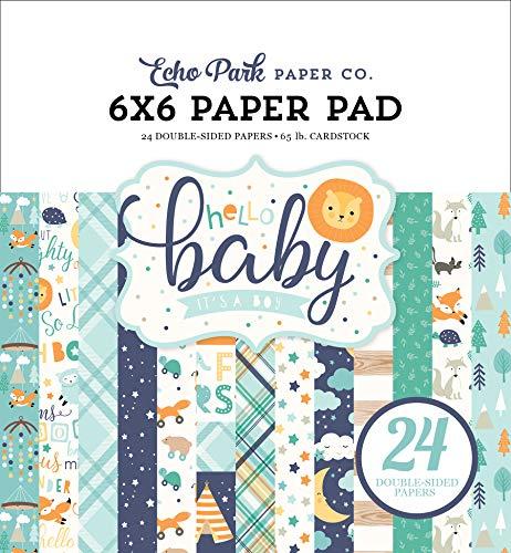 Yellow Orange Purple Teal Echo Park Paper Company Hello Baby Girl Decorative Brad Pink