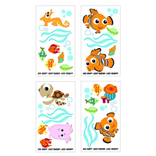 Disney patchs à Mon Ami Winnie l'ourson Stickers Stickers muraux avec Winnie l'ourson, Porcinet et Tigrou (discontinued par le fabricant)