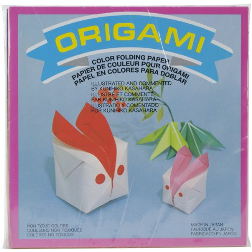 Aitoh Origami Papier 5.875-inch X 5.875-inch 300 sheets-solid Farben