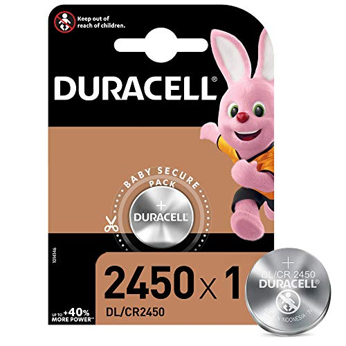 Duracell DL/CR2450/CR2016 Batteria Specialistica a Bottone al Litio Stilo, Confezione da 1