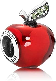 Sterling Silver Disney's Snow White Red Apple Charm 791572EN73