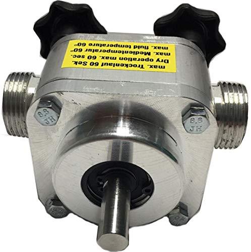 "ZuwaUSA Heavy Duty Drill Powered Pump ¾"" 8 GPM - Marine Grade Aluminum | Unistar-2001A (Drill not included)"