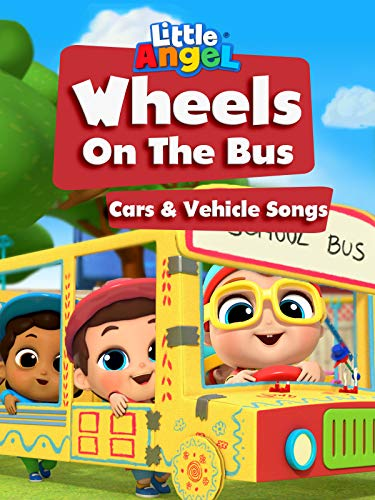 Wheels On The Bus Cars & Vehicle Songs - Little Angel