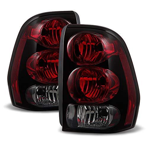ACANII - For 2002-2009 Chevrolet Trailblazer Rear Brake Tail Lights Lamps Left+Right 02-09