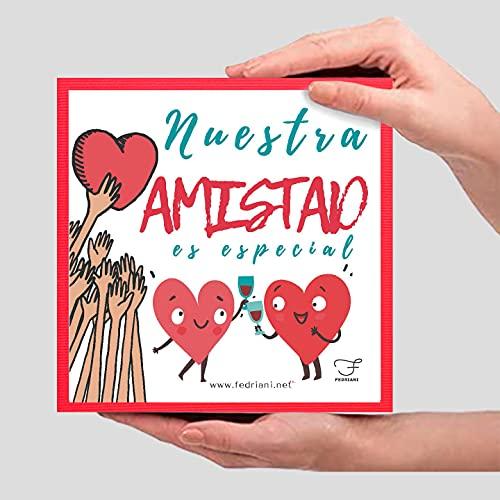 """fedriani Pack Amistad ❤ Regalo Original para Amigos y Amigas Especiales❤ """"Nuestra Amistad es Especial"""""""