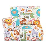 Central 23 - Wrapping Paper for Boys - For Girls - New Baby Birthday Gift Wrap - Safari Animals -...