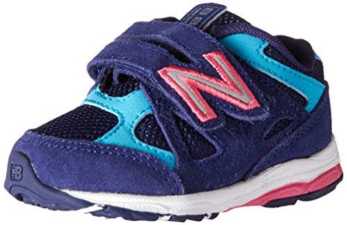 New Balance New Balance KV888V1 Infant Running Shoe (Infant/Toddler), Blue/Pink, 18.5 M EU