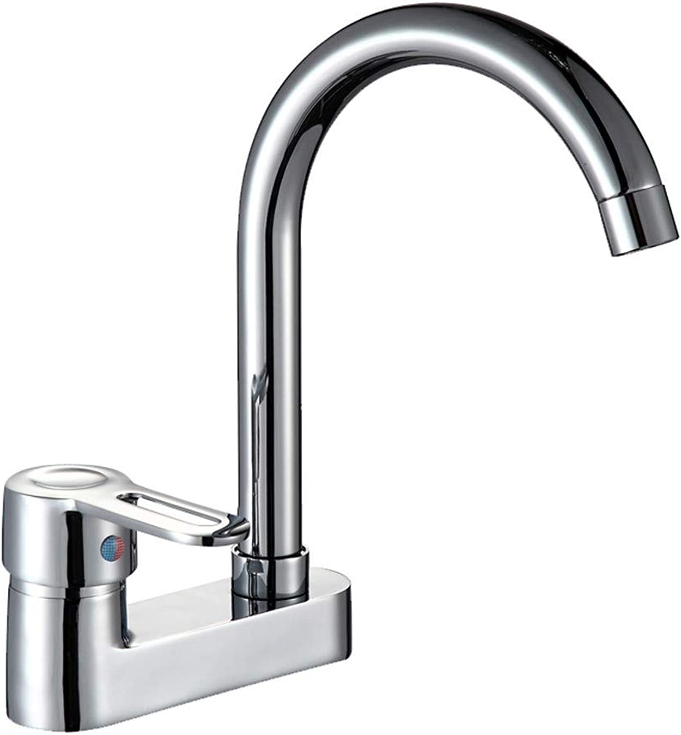 SADF Basin Faucet Single Handle Double Hole Mixing Valve Double Wash Basin Hot And Cold Water Faucet