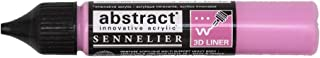 Sennelier Abstract Acrylic Liner, 27ml, Quinacridone Pink, (10-121301-658)