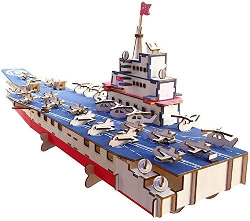 GXT Puzzle Juguete de Madera 3D Rompecabezas en Tres Dimensiones for Adultos descompresión Juguete súper difícil de Montar Manual de Alta...