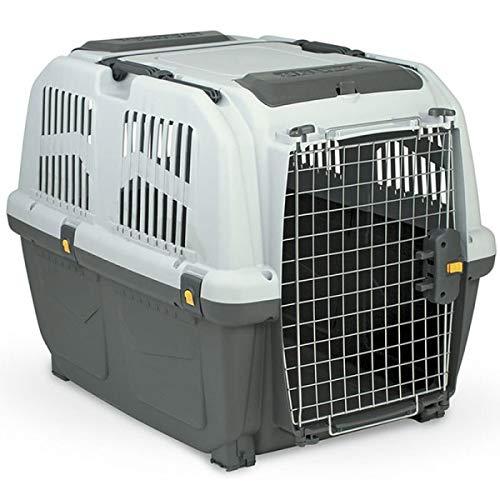 MPS SKUDO 4 IATA Transportbox für Hunde, entspricht den Standards für den Flugverkehr 68 x 48 x 51 cm