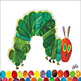 Oopsy Daisy Fine Art for Kids Eric Carle's The Very Hungry Caterpillar Canvas Wall Art by Eric Carle, 18 x 14