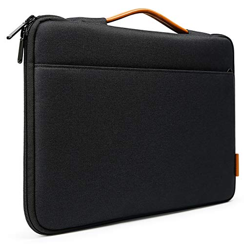 Inateck 13-13.3 Inch Laptop Sleeve Case Bag Briefcase Compatible 13 Inch MacBook Air 2010-2020, MacBook Pro 13 Inch 2012-2019/2020, 12.3 Surface Pro X/7/6/5/4/3, Surface Laptop 3 - Black