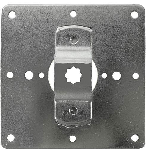 heicko e-ast GmbH Fertigkastenlager Kömmerling/VeKa/Motorlager/Antriebslager für Rollladenmotoren mit 10 mm Vierkant (1 ST)