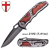 Knife - Folding Knife - EDC and Tactical Pocket Knife Stainless Steel...