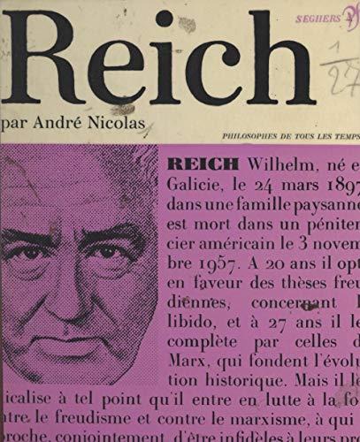 Wilhelm Reich: Ou la révolution radicale (French Edition)