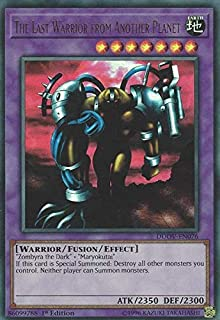 The Last Warrior from Another Planet - DUOV-EN076 - Ultra Rare - 1st Edition