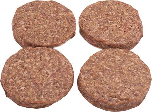 Classic Burger-Patties(4 x 160g) - für Hamburger & Cheeseburger, mild gewürztes Rindfleisch - saftig, aromatisch & lecker
