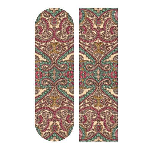 MNSRUU Palace Style Skateboard Grip Tape Sheet Scooter Deck carta sabbia 22,9 x 33'