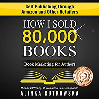 How I Sold 80,000 Books audiobook cover art