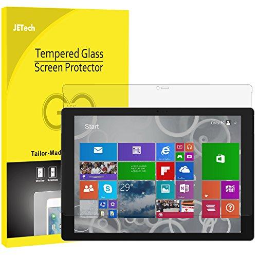 JETech Protector de Pantalla Compatible Microsoft Surface Pro 3 12 Pulgadas, Vidrio Templado