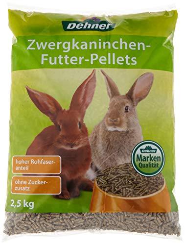 Dehner Hasenfutter Pellets, 4 x 2.5 kg (10 kg)
