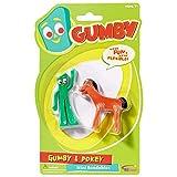 NJ Croce Gumby & Pokey Mini Bendable Pair