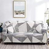 Fundas de sofá elásticas elásticas para Sala de Estar Funda de sofá en Forma de L Funda de sillón seccional Fundas de Muebles A11 3 plazas