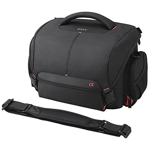Sony LCSSC21 Lightweight System Case for Alpha DSLR Camera and Lenses - Black