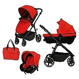 Adon - Trio con Navicella Omologata colore Rosso Sport 233