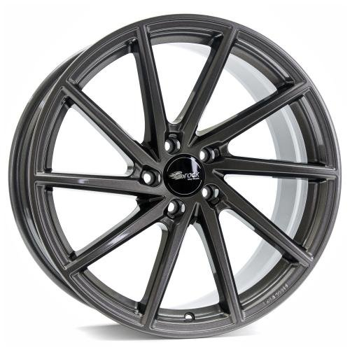 Brock B37 dark-sparkle lackiert 8x18 ET45 5.00x114 Hub Hole 72.60 mm - Alu felgen