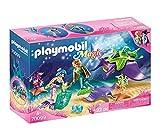 PLAYMOBIL Magic, 70099 Recolectores de Perlas con Manta raya, Para niños a partir de 4 años