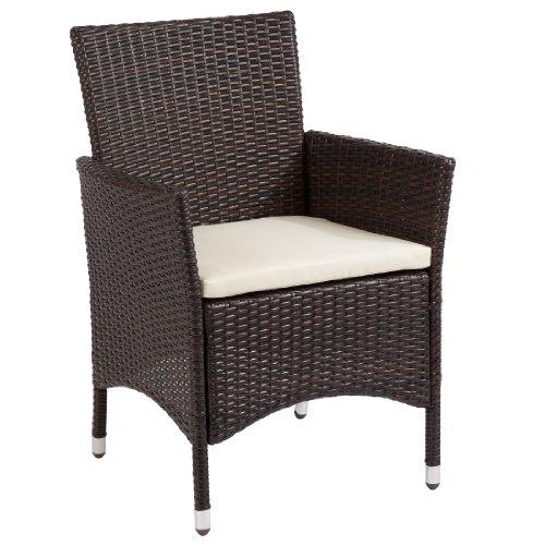 Ultranatura Ultranatura Polyrattan Sessel mit Armlehne, Palma-Serie - 59 x 57 x 85 cm