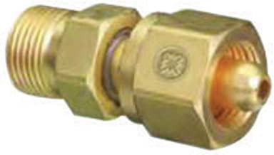 Western CGA-346 X CGA-540 Brass Cylinder To Regulator Adapter, Package Size: 10 Each