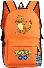 U&M 600D Oxford Pocket Monster Backpacks Anime Cartoon Cosplay Shoulder Bags Schoolbags Daypack